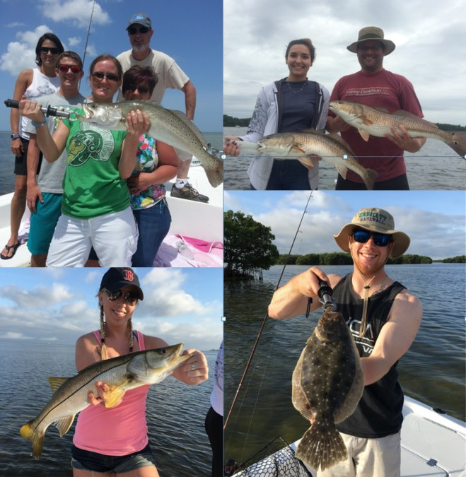 Tampa fishing charters inc early spring fishing report for Tampa bay fishing report