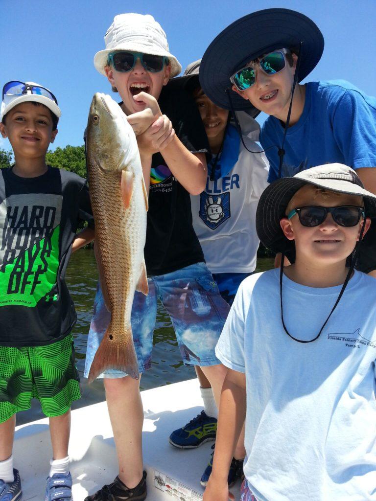 Take a kid fishing this summer tampa fishing charters for Take a kid fishing